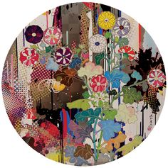 Kansei Abstraction. by MURAKAMI, Takashi. Edition of 300. Signed and numbered in pen lower right by Murakami.