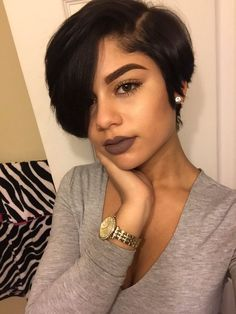 Short Bob With Bangs Hairstyles Wigs For Black Women Human Hair Lace Front Full African American Natural