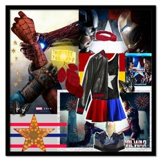 """Contest : Captain America: Civil War"" by marasweet99 ❤ liked on Polyvore featuring Gucci, Livingly, contestentry and CaptainAmericaCivilWar"
