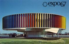 Postcard travelled km miles) in 10 days (from Canada to United Kingdom): Montreal Expo 67 - Man and his World :D Expo 67 Montreal, Montreal Canada, Montreal Quebec, Quebec City, The Road, Thats The Way, Parcs, World's Fair, Urban