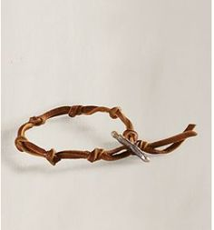 the little house in the city: Craft Idea: Leather Bracelet