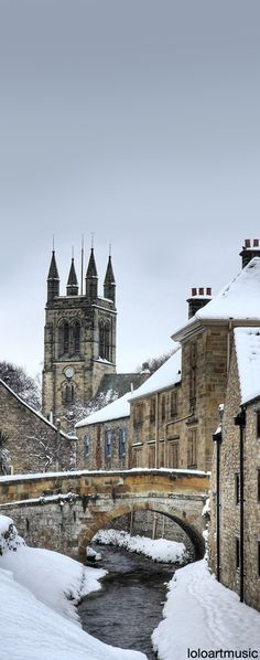 Helmsley Winter, North Yorkshire, England Photography by Martin Williams Yorkshire England, North Yorkshire, Yorkshire Dales, Cornwall England, Yorkshire County, Oh The Places You'll Go, Places To Travel, Places To Visit, Bósnia E Herzegovina