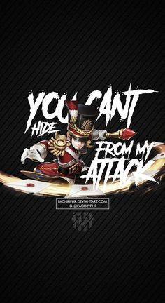 Wallpaper Phone Harley Quote by FachriFHR on DeviantArt Mobile Legends Hd, Alucard Mobile Legends, Phone Lockscreen, Iphone Wallpaper, Hero Wallpaper, Mobiles, Moba Legends, Legend Quotes, Hero Logo
