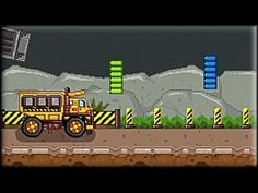 Play Truck Rush 3 and get your truck moving past the obstacles you have not seen before. The goal is to get that truck to the flag at the end in the least amount of time you can. Don't forget to look out for the different moving obstacles because if you make a wrong move, you will be crashing onto it and restart the level. Get to the end in the fastest way you can and get that three stars! More info and links here:  http://www.freegamesexplorer.com/games/videos/truck-rush-3/