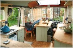 live in school bus pinterest | George Clarke's Amazing Spaces