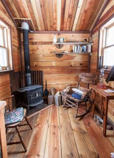 Charles has since designed and built several tiny houses that are all beautiful, custom works of art made with reclaimed materials.