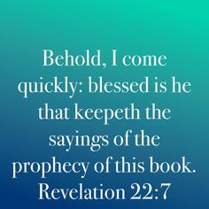 Revelation 22, Daily Word, Blessed, Sayings, Words, Lyrics, Word Of The Day, Horse, Quotations