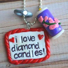My Diamond Candles charm from Bits of Joy!