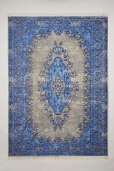 printed ziya rug #hamptonsstyle #anthrofave #homedecor