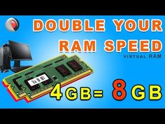 How to double your RAM Speed Performance in PC at no cost 2019 Make Computer Faster, Slow Computer, Computer Basics, Car Insurance Comparison, Compare Car Insurance, Virtual Memory, Server Memory