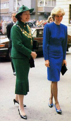 The Princess of Wales challenged prejudice towards HIV in April 1987 when she famously held hands with an AIDS patient for the cameras when opening the first purpose-built AIDS ward at Middlesex Hospital in London.