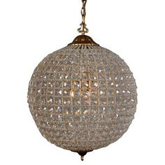 Check out this item at One Kings Lane! Cimberleigh Crystal Chandelier, Medium