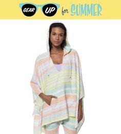Gear Up for Summer: Mara Hoffman Striped Poncho | CoastalLiving.com