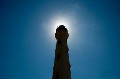 Lighthouse on the island of Aruba