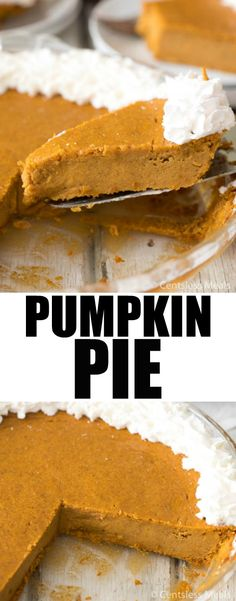 Crustless Pumpkin Pie is harvest heaven on a plate! So delicious and easy to make this Crustless Pumpkin Pie will forever become your fall favorite!