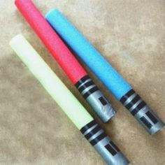 DIY Star Wars Costumes for Beginners: Make a Pool Noodle Light Saber