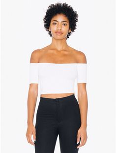 Cropped Bardot Top from American Apparel $30,00