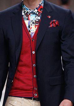 Farb-und Stilberatung mit www.farben-reich.com - SPRING 2014 MENSWEAR Moschino
