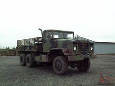 Current Military Cargo Trucks | 1983 M923 AM General 6X6 Military Cargo Truck for sale