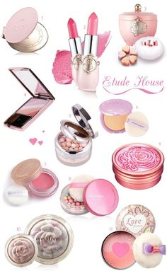 Etude House loovveee there make-up Korean Makeup Tips, Korean Makeup Tutorials, Korean Beauty, Korean Makeup Brands, All Things Beauty, Beauty Make Up, Cute Makeup, Makeup Looks, Cheap Makeup