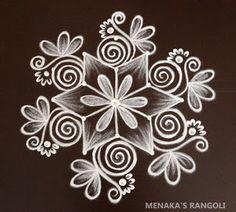 Rangoli Side Designs, Simple Rangoli Border Designs, Rangoli Designs Latest, Free Hand Rangoli Design, Small Rangoli Design, Rangoli Designs Diwali, Rangoli Designs With Dots, Beautiful Rangoli Designs, Small Free Hand Rangoli