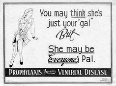 venereal disease medication ad!