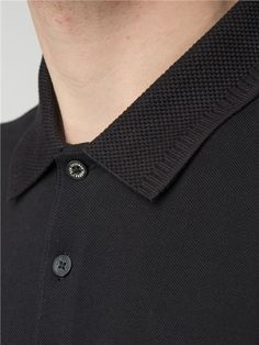 The Ben Sherman Romford polo is an icon of men's mod clothing style. Men's polo t-shirts & long sleeve polo shirts for men. Polo Shirt Style, Polo Shirt Outfits, Polo Shirt Design, Polo Design, Polo Outfit, Mens Polo T Shirts, Mens Tees, Collar Designs, Long Sleeve Polo
