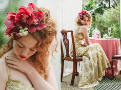 Claire Pettibone's 'Still Life' Collection ~ Ethereal and Whimsical Wedding Dresses | Love My Dress® UK Wedding Blog