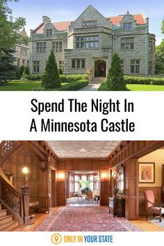 Looking for a unique getaway? Spend the night in a beautiful castle AirBnB in Minnesota. Beautiful Castles, Beautiful Homes, Wonderful Places, Great Places, Best Bucket List, Stay In A Castle, Hidden Beach, Urban Setting, Swimming Holes
