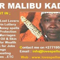 powerful Traditional healer   Dr Malibu +27719567980