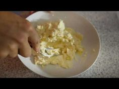 Tvarohové gulľky so strúhankou - YouTube Risotto, Oatmeal, Grains, Rice, Breakfast, Ethnic Recipes, Food, Youtube, Breakfast Cafe