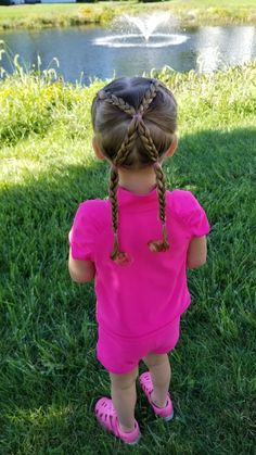 - New Hair Lil Girl Hairstyles, Cute Hairstyles For Kids, Princess Hairstyles, Pretty Hairstyles, Braided Hairstyles, Toddler Hairstyles, Hairdos, Girl Hair Dos, Hair Designs