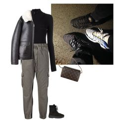 """""""Crimée"""" by pauline93 ❤ liked on Polyvore featuring adidas Originals, NSF, R13 and Louis Vuitton"""