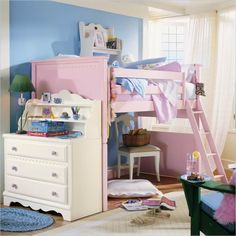 Trendy Teen Bedrooms with Bunk Beds