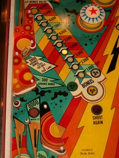 Lectronamo - stern vintage pinball, coin-op and arcade графика, деко Jack O'connell, Pinball Wizard, Penny Arcade, Old Coins, Vinyl Toys, Arcade Games, Pinball Games, Board Games, Game Boards