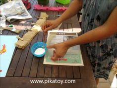 Cómo hacer una piñata en forma de helado con pikatoy.com - YouTube