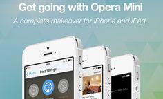 Opera Mini para iPhone y iPad se Renueva y se Actualiza a la Versión 8.0