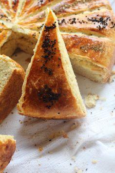 pain de la petite panière, au zataar, graines de nigelle
