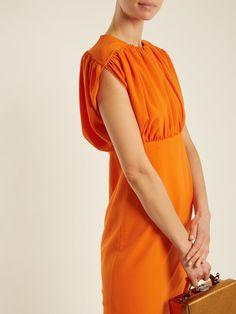 Macy stretch-crepe dress | Emilia Wickstead | MATCHESFASHION.COM