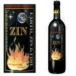 Earth, Zin and Fire  very cool bottle!