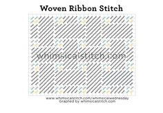 Woven Ribbon Stitch