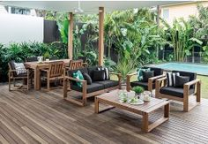Recycled Timber Furniture Gold Coast. See More. Shadow2 11 Piece Outdoor  Package In Timber Part 52