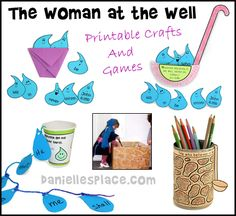 Women at the Well Crafts and Bible Verse Review Games, and Activities for…
