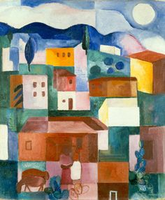 Lasar Segall - Paisagem brasileira, 1925
