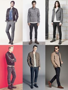 Кэжуал куртки мужские