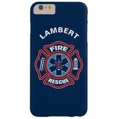 Fire and Rescue Red and Blue Barely There iPhone 6 Plus Case  gift for firefighter, firefighter signs, firefighter room #militarygift #fireunion #fireengineer, 4th of july party Firefighter Room, Firefighter Quotes, Iphone 6 Plus Case, Iphone Cases, Bible Quotes, Me Quotes, Military Gifts, 4th Of July Party, Family Quotes