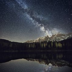 Our galaxy by Lukas Furlan, via Behance