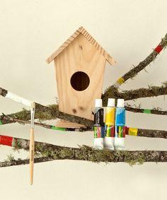 Design Your Own Birdhouse Kit #zulily #zulilyfinds