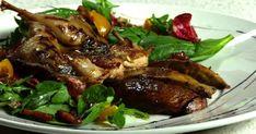 Une recette de salade-repas à base de caille et de champignons portabella, idéale pour un souper léger, présentée par Daniel Vézina. Slow Cooker, Steak, Pork, Turkey, Beef, Chicken, Sauce, Tv, French Food