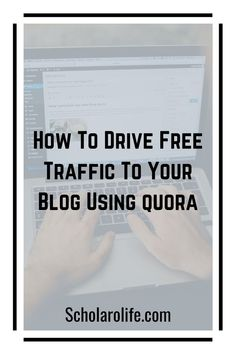 Find out how you can use Quora to drive high-quality traffic to your website for free. Get a headstart and learn from a Quora marketing pro. How To Make Money, How To Get, How To Plan, Content Marketing, Digital Marketing, Copywriting, Thought Provoking, Blogging, About Me Blog
